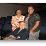 Mrs. Flora D. Crittenden and Mrs. Katherine Johnson with daughter at CMS Graduation Exercises in June 2013